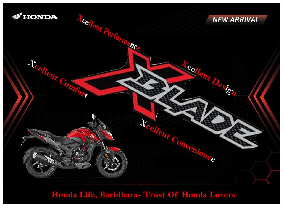 Honda X-blade Bike