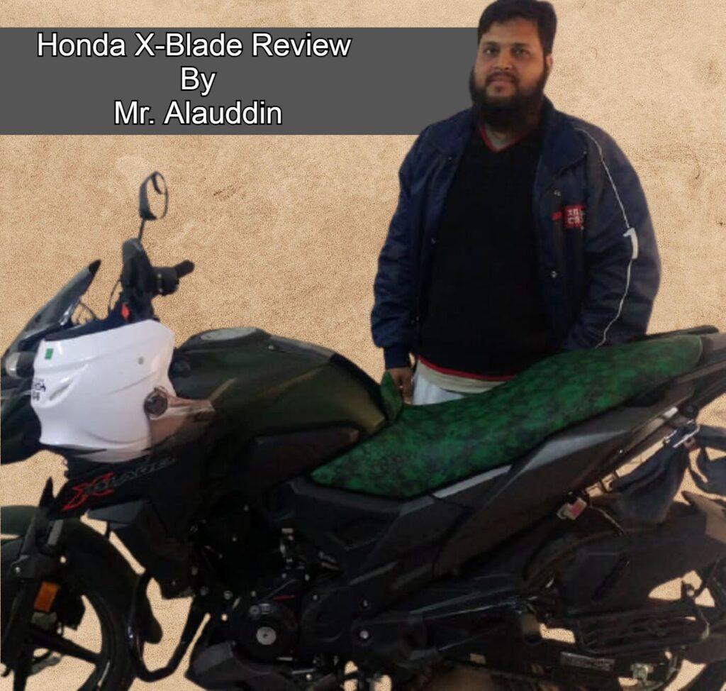 Honda X Blade user review